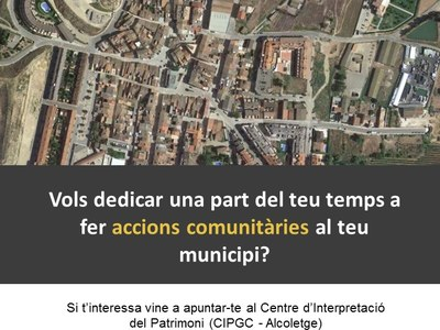 ACCIONS COMUNITÀRIES AL MUNICIPI