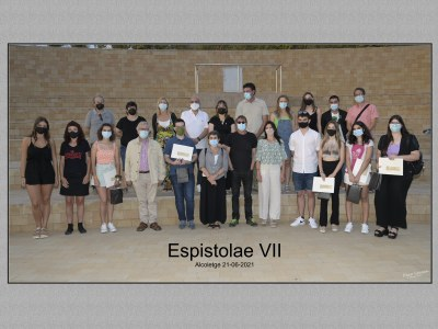 Acte de lliurament premis Epistolae 2021 VII Edició