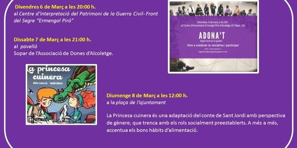 Activitats pel Dia de la Dona