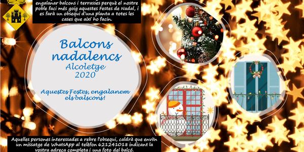 BALCONS NADALENCS 2020 ALCOLETGE