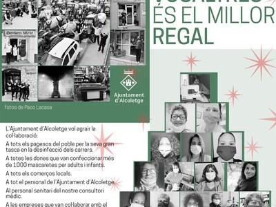 COMPTAR AMB VOSALTRES ÉS EL MILLOR REGAL