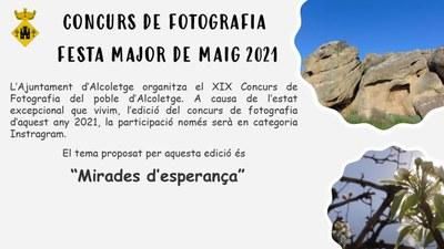 Concurs de fotografia Festa Major de maig 2021