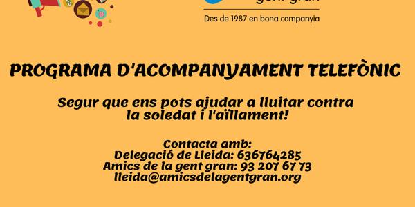 CRIDA DE VOLUNTARIAT AMICS DE LA GENT GRAN