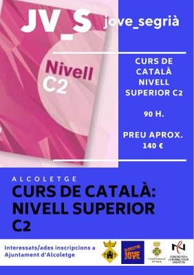 CURS DE CATALÀ NIVELL SUPERIOR C2