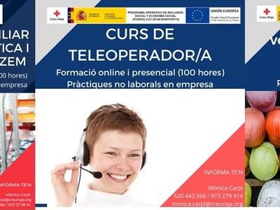 CURSOS CAPACITACIÓ PROFESSIONAL CREU ROJA LLEIDA - SETEMBRE