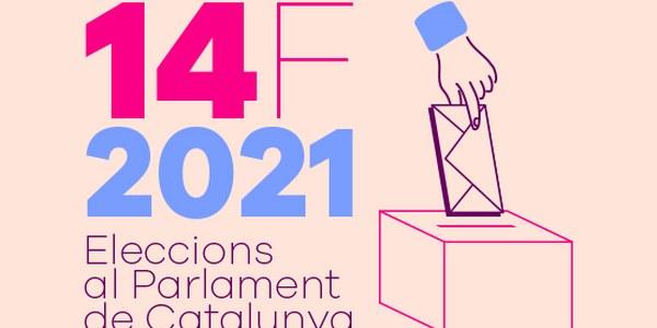 ELECCIONS AL PARLAMENT DE CATALUNYA 14 FEBRER 2021