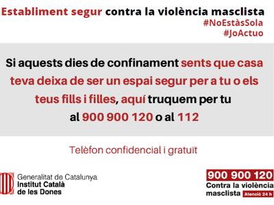 ESTABLIMENT SEGUR CONTRA LA VIOLÈNCIA MASCLISTA