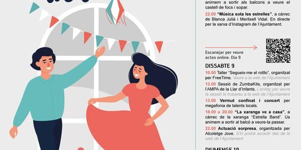 FESTA MAJOR CONFINADA D'ALCOLETGE