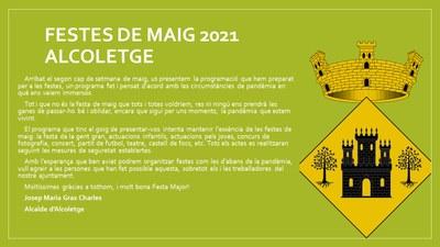 FESTES DE MAIG 2021
