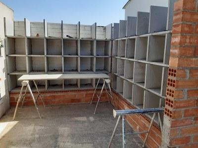Instal·lació de columbaris al cementiri municipal