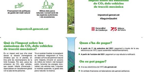L' Agència Tributària de Catalunya implantarà el nou impost sobre les emissions de diòxid de carboni