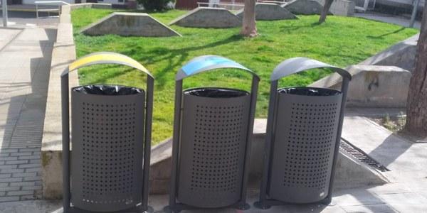 Noves papereres de reciclatge