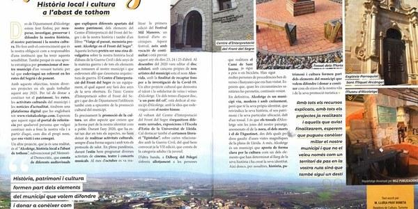 """PUBLICACIÓ """"ALCOLETGE HISTÒRIA LOCAL I CULTURA A L'ABAST DE TOTHOM"""" REVISTA TURISME CATALUNYA"""