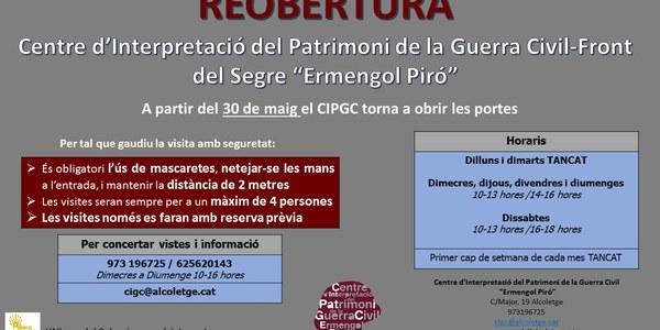 REOBERTURA DEL CIPGC