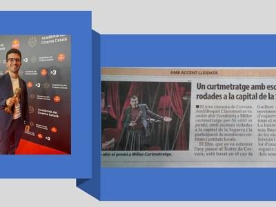Tomàs Bayo Encontra, premiat als Premis Gaudí 2021