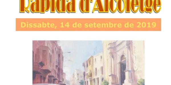 V CONCURS DE PINTURA RÀPIDA D'ALCOLETGE