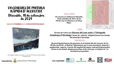 VII CONCURS DE PINTURA RÀPIDA D'ALCOLETGE